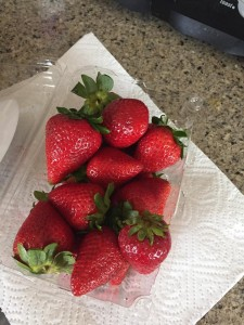 Strawberries - cleaned with 11.5 water - 5.21.16